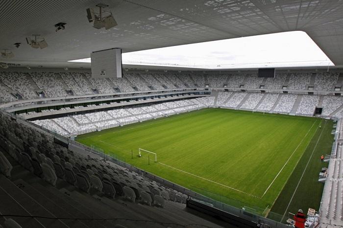 Stade de Bordeaux inne