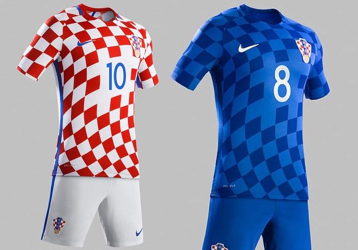 Croatia national kit euro 2016
