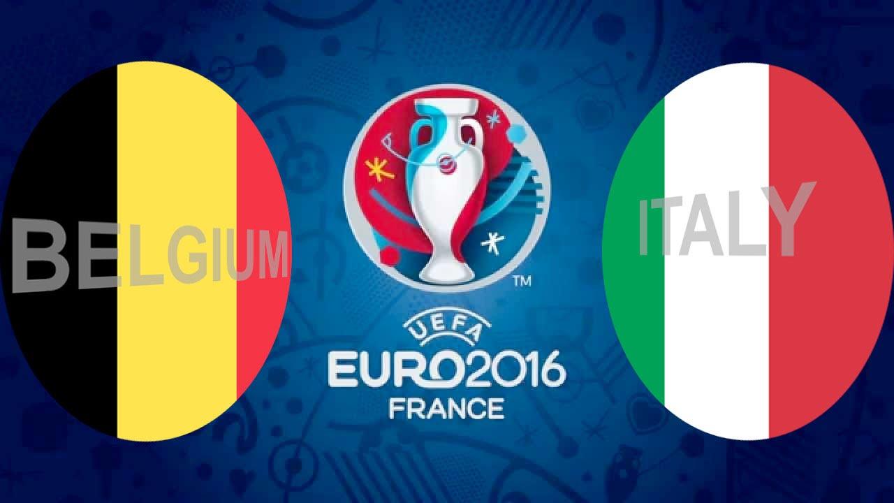 Belgien och Italien