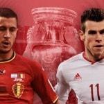 Eden Hazard och Gareth Bale gör upp om en plats i semifinalen!